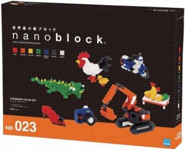 nanoblock NB-023 Standard Color Set 2